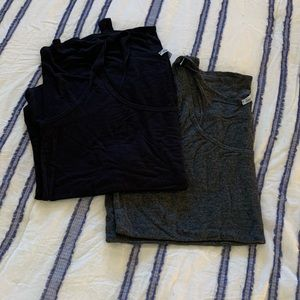 Two Charlotte Russe Tanks